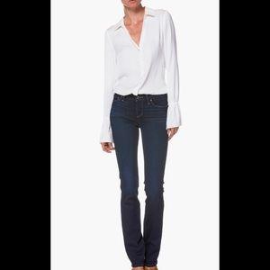 Paige Skyline Straight Jeans 28x34 Medium Wash